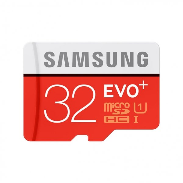 Samsung microSDHC Class 10 32GB Evo+ with Adapter