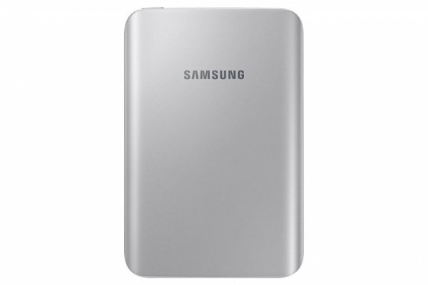 Samsung Power Bank 3.000 mAh 1,5A Micro-USB-/USB-Anschluss silver