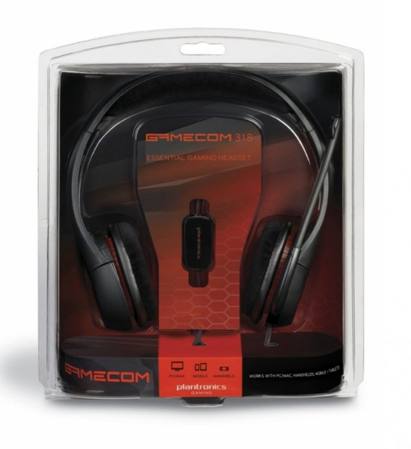 Plantronics Gamecom 318 2.0 PC 3.5mm jack