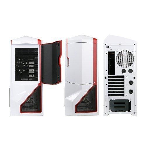NZXT Phantom biały/czerwony, Big-Tower biały