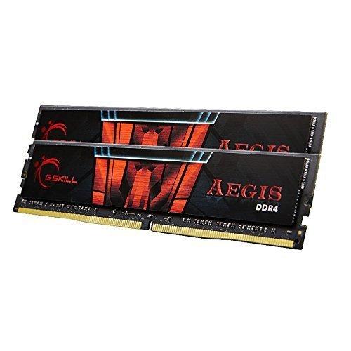 G.Skill 16 GB DDR4-2400 Kit, F4-2400C15D-16GIS, Aegis