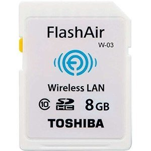 Toshiba Wireless SDHC        8GB Flash Air Class 10