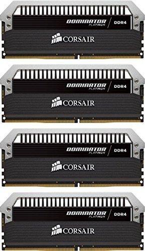 Corsair  16 GB DDR4-3200 Quad-Kit, CMD16GX4M4C3200C16, Dominator Platinum