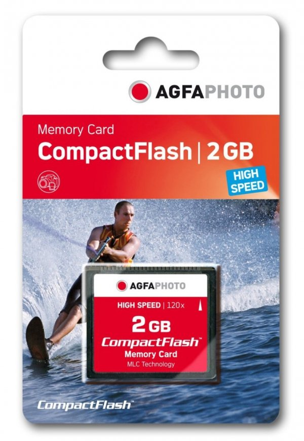 AgfaPhoto Compact Flash 2GB High Speed 120x MLC