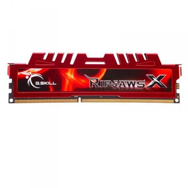 G.Skill 32 GB DDR4-2666 Kit, czerwony F4-2666C15D-32GVR, Ripjaws V