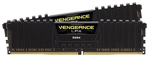 Corsair  16GB DDR4-2800 Kit, czarny, CMK16GX4M2A2800C16, Vengeance LPX