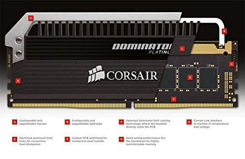 Corsair DDR4 - 16GB 2133-10 - Quad - Dominator Platinum