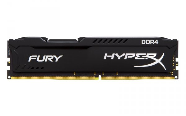 Kingston HyperX 8 GB DDR4-2400, czarny, HX424C15FB2/8, Fury Black