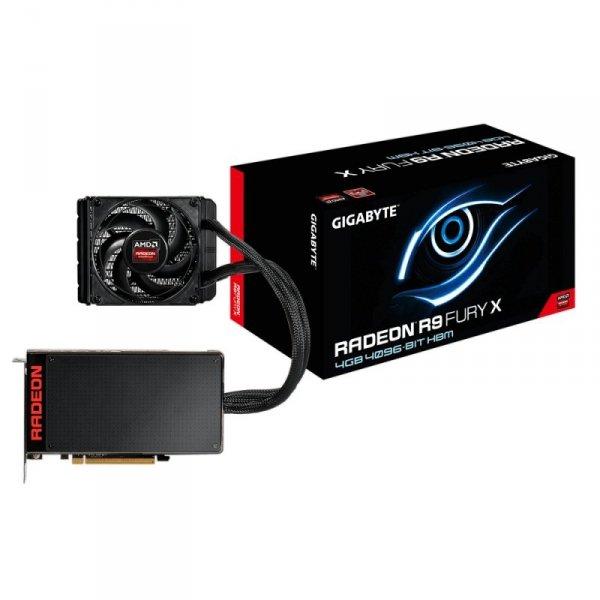 GIGABYTE AMD Radeon R9 Fury X 4GB HBM, DirectX 12, OpenGL 4.4, HDMI, 3x DisplayPort, 4K