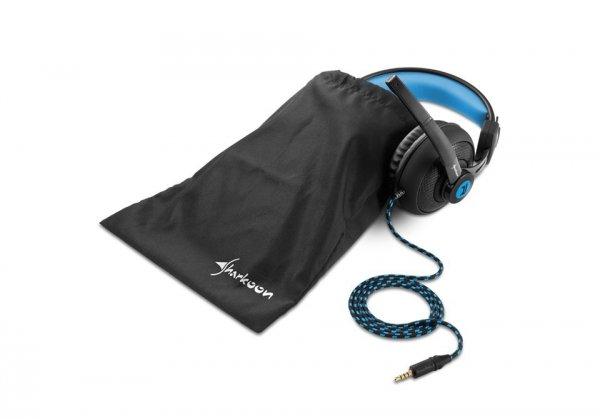 Sharkoon Rush ER2 czarno-niebieskie