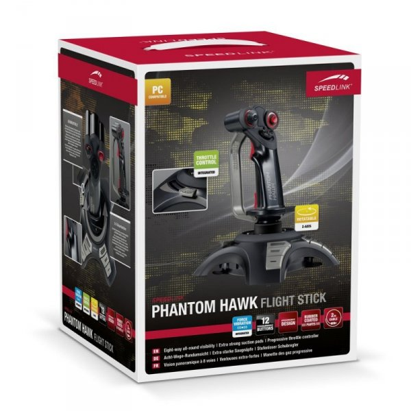 Speedlink Joystick PHANTOM HAWK Flightstick PC