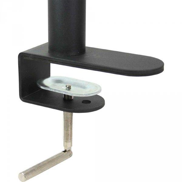 InLine Uchwyt biurkowy na 2 TFT 33-68cm 13-27'') max. 2x 15kg