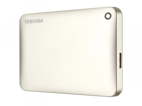 Toshiba 1TB Canvio Connect II - USB 3.0 - złota