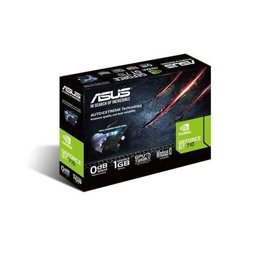 ASUS GeForce GT 710-1-SL, HDMI, DVI-D, VGA
