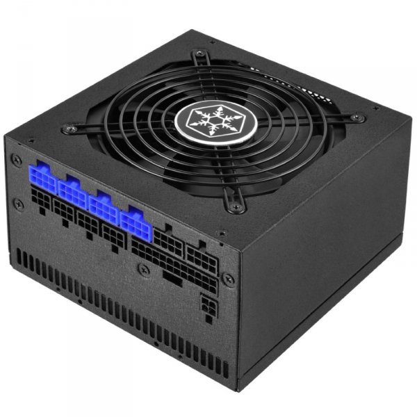 SilverStone SST-ST60F-TI, czarny, 4x PCIe, Kabel-Management