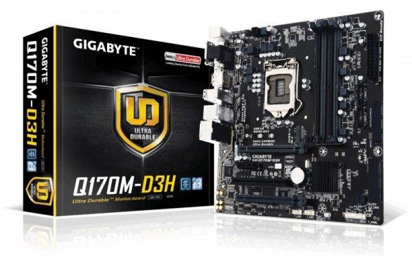 GIGABYTE GA-Q170M-D3H