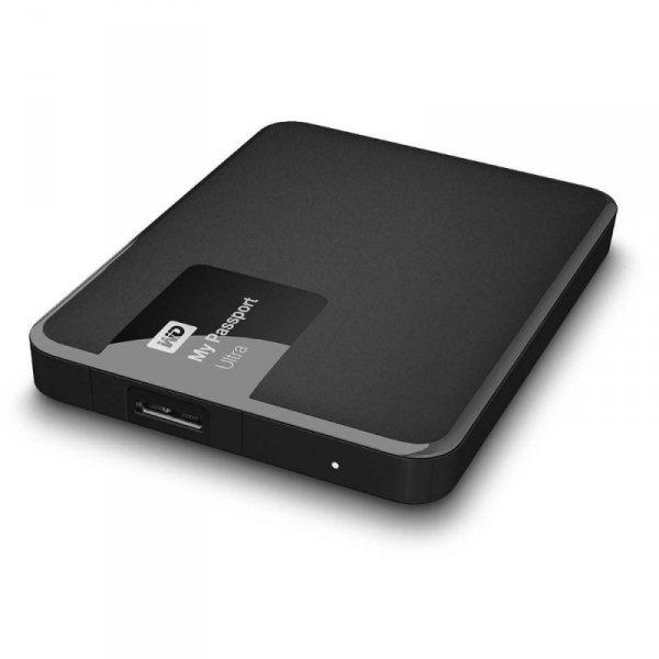 Western Digital My Passport Ultra 500 GB - czarny - USB 3.0