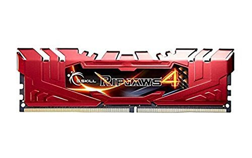 G.Skill 8GB DDR4-2800 Kit, czerwony F4-2800C16D-8GRR, Ripjaws 4