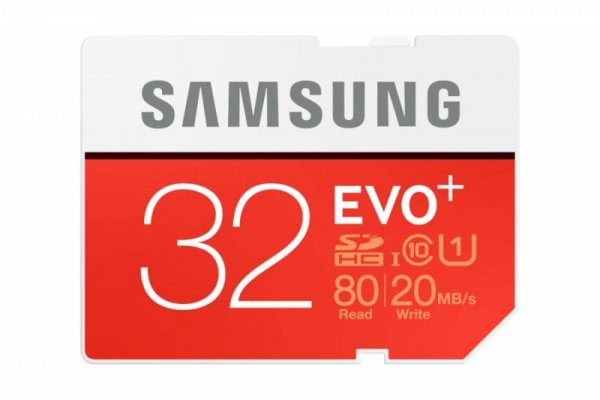 Samsung SDHC Class 10 32GB Evo+