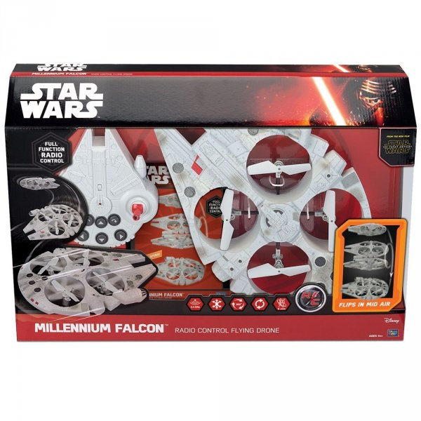 STAR WARS MILLENIUM FALCON QUADROCOPTER DRON