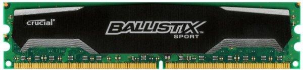 Crucial DDR3 4GB 1600 CL9 - Ballistix Sport