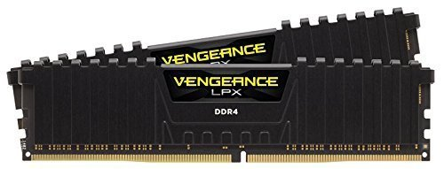 Corsair  32GB DDR4-3200 Kit, CMK32GX4M2B3200C16, Vengeance LPX