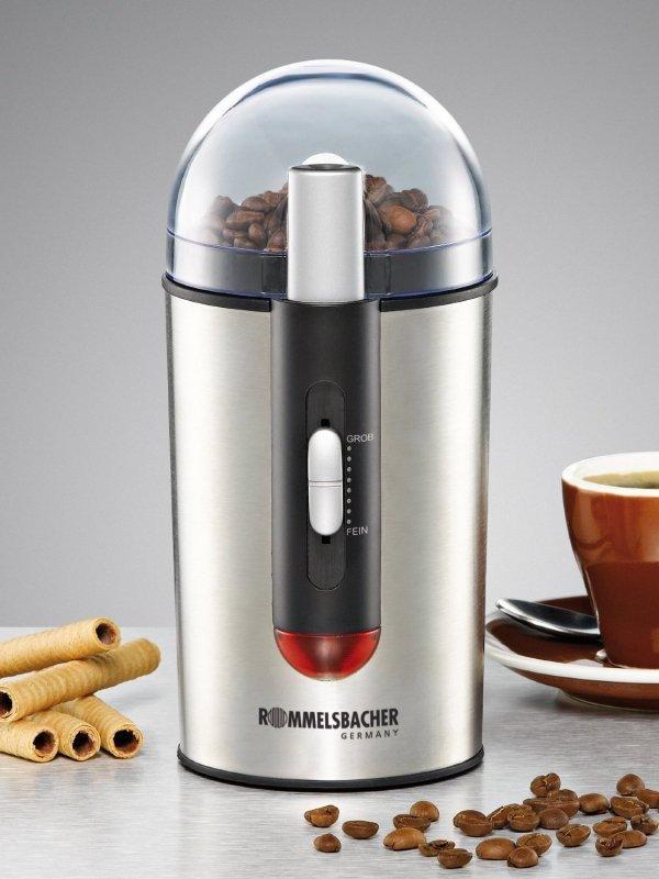 Rommelsbacher Młynek do kawy EKM 150 silver/bk