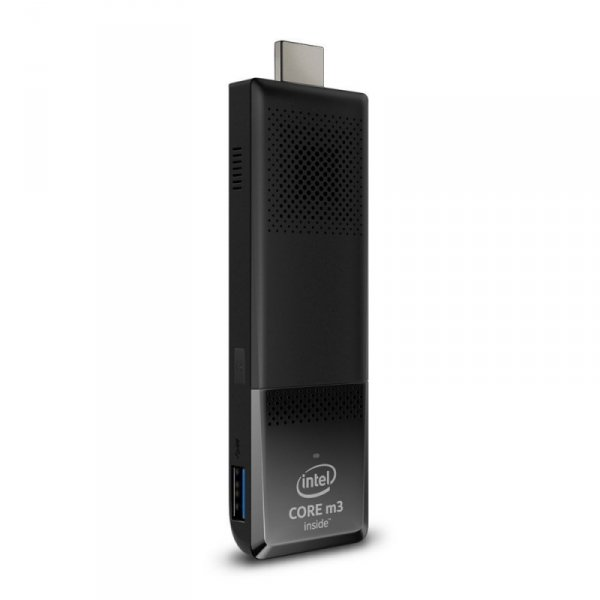 Intel Compute Stick BOXSTK2M3W64CC, czarny, Windows 10 Home 64-Bit
