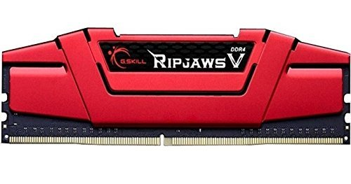 G.Skill 32 GB DDR4-3000 Quad-Kit, czerwony F4-3000C15Q-32GVRB, Ripjaws V