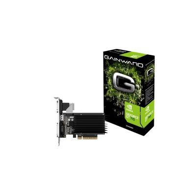 Gainward GeForce GT 710 SilentFX, HDMI, DVI-D, VGA