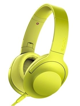 Sony MDR-100AAPY yellow