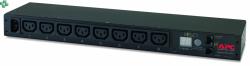 AP7820B Monitorowany moduł dystrybucji zasilania PDU do montażu w szafie, 1U, 12 A/208 V, 10 A/230 V, (8) C13