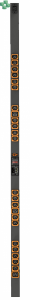 VERTIV™ GEIST™ VP8959EU3 RACK PDU, Switched, Unit Level Monitoring EC (21) C13, (3) C19