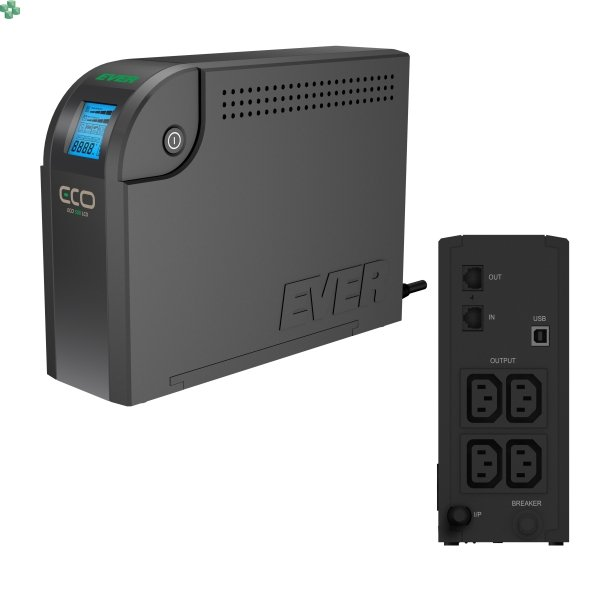 UPS EVER ECO 500VA/300W LCD