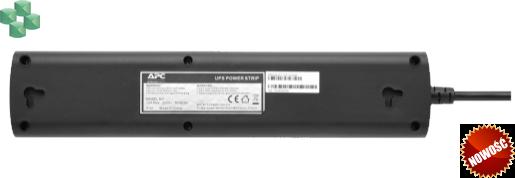 Listwa zasilająca do zasilacza UPS marki APC, z IEC C14 z blokadą na 4 gniazda z zabezpieczeniami (CEE 7/3), 230 V, Niemcy (PZ42IZ-GR)