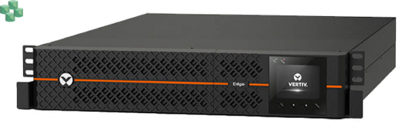 EDGE-22000IRT2UXL Zasilacz UPS VERTIV EDGE 2200VA/1980W XL, Rack/Tower, 2U, Line-Interactive, LCD, PF=0,9