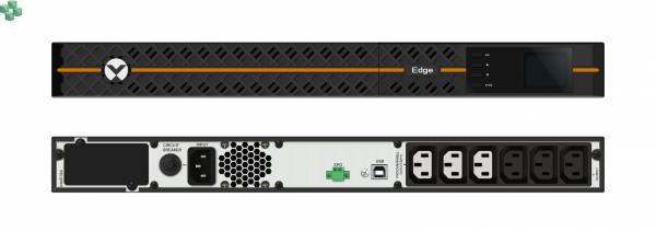 EDGE-1500IRM1U Zasilacz UPS VERTIV EDGE 1500VA/1350W, Rack/Tower 1U, Line-Interactive, LCD, PF=0,9
