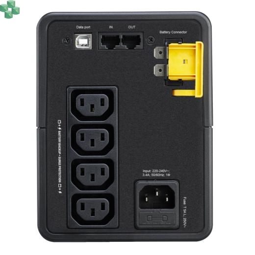 BX750MI Zasilacz UPS APC Back-UPS 750VA/410W, 230V, AVR, gniazda IEC, Off-Line