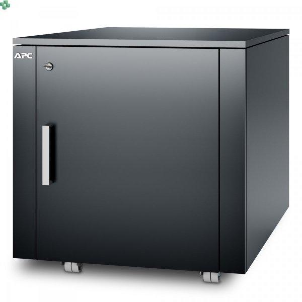 AR4000MVX431 Wyciszona meblowa mini szafa serwerowa - NetShelter CX Mini 12U wykończenie ciemnoszare.