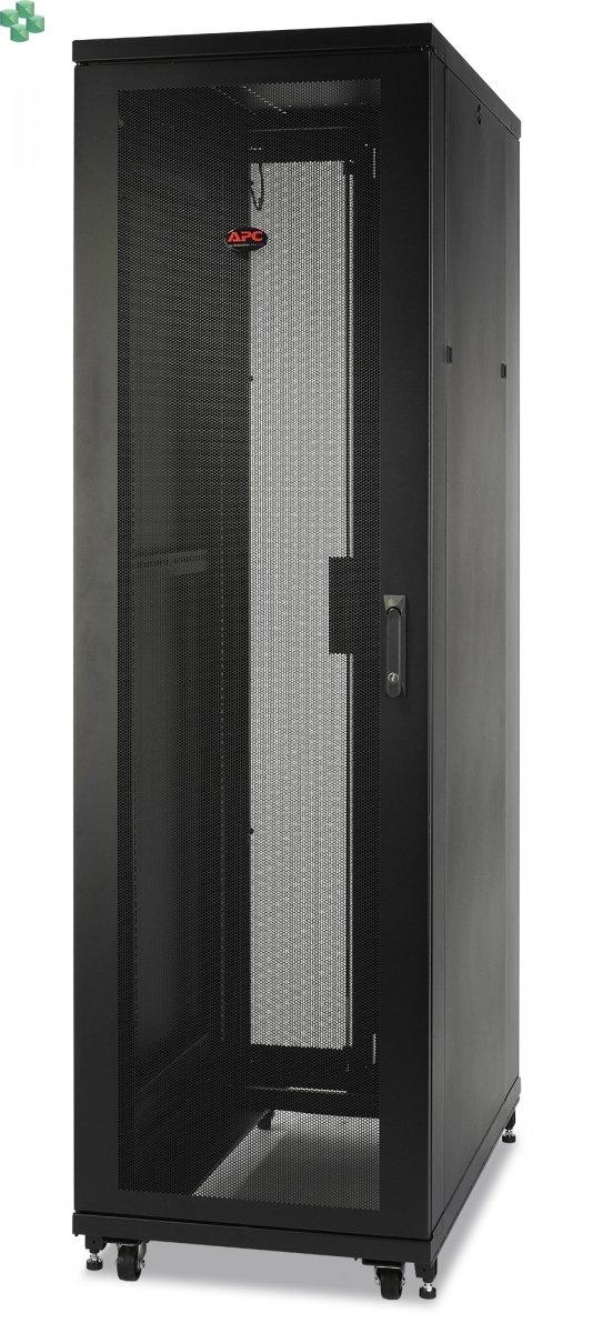 AR2400 Obudowa NetShelter SV 42U o szerokości 600 mm i głębokości 1060 mm z bokami, czarna