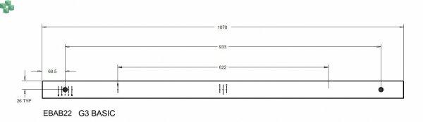 EBAB22 Listwa PDU Eaton ePDU BA 0U (C20 16A 1P) 20XC13:4XC19