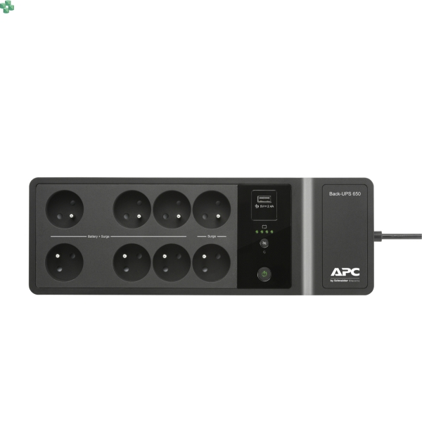 BE650G2-CP Zasilacz UPS APC Back-UPS 650VA, 230V, 1 port ładowania USB