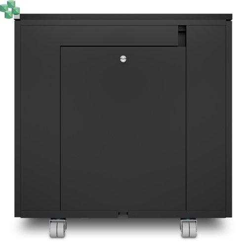 AR4000MVX429 Wyciszona meblowa mini szafa serwerowa - NetShelter CX Mini 12U wykończenie czarne.