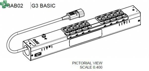EBAB02 Eaton ePDU Basic 0U C14 10A 1P 8XC13