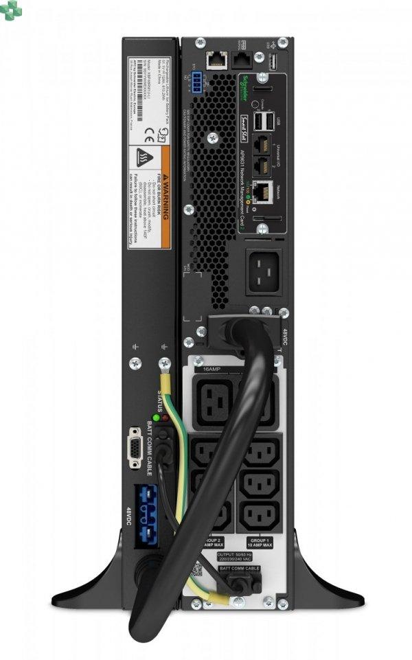 SRTL3000RMXLI-NC Zasilacz APC Smart-UPS SRT Li-Ion 3000VA RM 230V z kartą sieciową