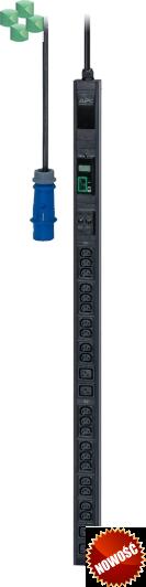 Easy PDU, Metered, Zero U, 32A, 230V, (20)C13 & (4)C19;IEC309 (EPDU1132M)