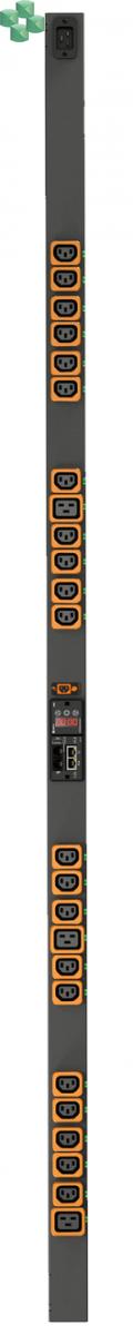 VERTIV™ GEIST™ VP8959EU3 RACK PDU, Switched, Unit Level Monitoring EC (21) C13, (3) C19