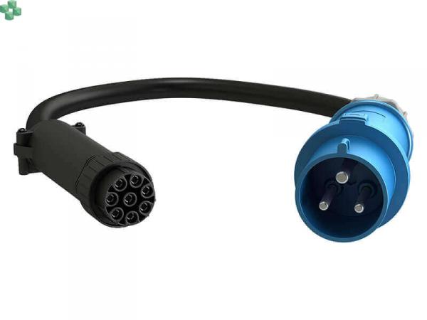 FSC1U001 VERTIV Adapter kablowy FSC 1 faza, 32A, 7,3kW, 3m., do listew uPDU.