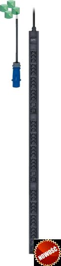Easy PDU, Basic, Zero U, 11 kW, 230V, (36) C13 & (6) C19) IEC309 (EPDU1216B)