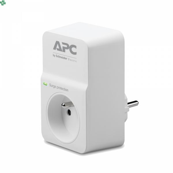 PM1W-FR Gniazdo/przejściówka przeciwprzepięciowa - APC Essential SurgeArrest 1 outlet 230V France